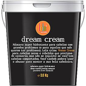 Dream Cream Lola 3k Hidratação Lola Cosmétics Máscara
