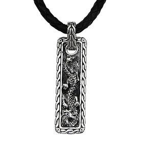 Novica Collar Colgante De Plata De Ley .925 Para Hombre Con