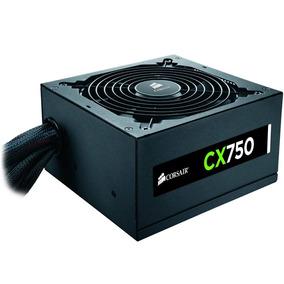 Fonte Corsair Cx-750w 80 Plus Bronze - Cp-9020123-ww