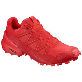 Tenis Salomon Speedcross 5 Rojo Caballero Original - Run24