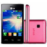 Smartphone Lg T375 Dual Chip 2mp Wifi Rádio 3.2