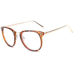 Armação Vintage Unissex Para Óculos De Grau - Leopardo 025 818049c2e7