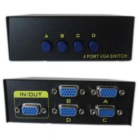 Switch Chaveador Vga 4x1 Modelo Vga-15-4