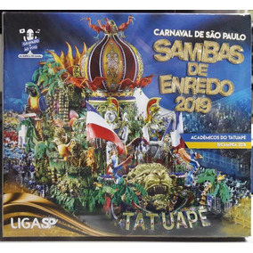 Kit Cds Samba Enredo Carnaval 2019 Escola De Samba De Sp