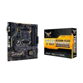 Placa-mãe Asus P/amd Am4 Tuf B350m-plus Gaming Ddr4