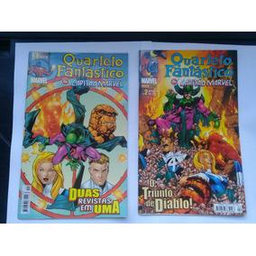 Quarteto Fantástico & Capitão Marvel Loja De Coleções