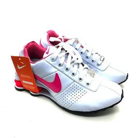 bf1faf73b6d Tenis Nike Branco Com Dourado Feminino - Calçados