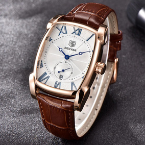 822f07d8d6d Relogio De Pulso Retangular Masculino - Relógios De Pulso no Mercado ...