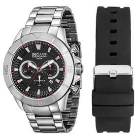 e10713bd930 Relógio Seculus Chronograph 10 Atm Masculino - Relógios De Pulso no ...