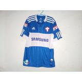Camisa Palmeiras Cruz Savoia Azul no Mercado Livre Brasil 7d51bc70cf211