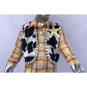 6c67532da01b0 Bonita Camisa De Algodon C chaleco P disfraz Woody Toy Story