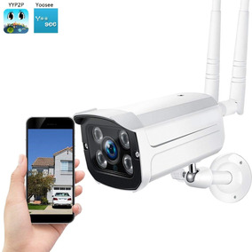 Camera Ip Externa A Prova D Agua Wifi Visao Noturna Hd Ip66
