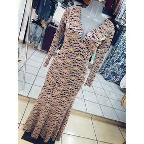Vestido Dorado M