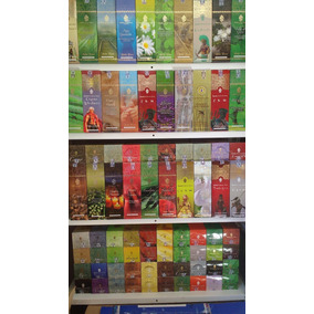 Incenso Shankar Box Com 25 Caixinhas De 8 Varetas 5 Aromas