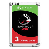 St3000vn007 Dd Interno Seagate Ironwolf 3.5 3tb Sata3 Nas
