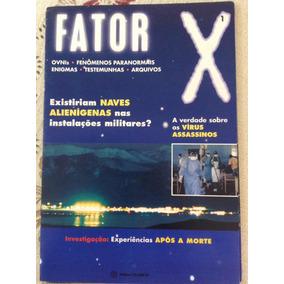 Revis Ufológica Fator X (acompanha 2 Recortes De Jornais)