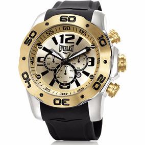 95f56570914 Relógio Everlast Masculino Analógico E552. R  1.299