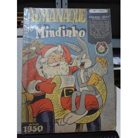 Gibi Almanaque Do Mindinho 1950 Ebal