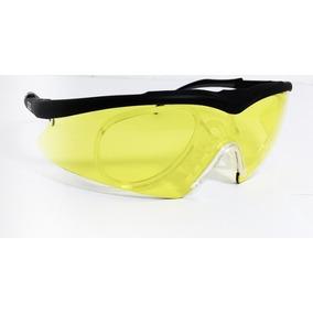 40519ee842878 Oculos Seguranca Amarelo Com Clip De Grau Airsoft Paintibal