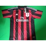 Camisa Do Milan Original+calção+frete Grátis