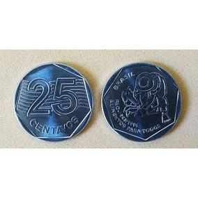 Moeda 25 Centavos Mbc Fao 1995