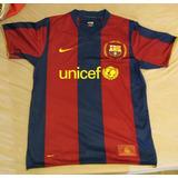 Camisa Barcelona 2007/2008 Home Henry