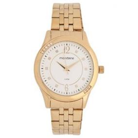 0cfa6b1a008 Relogio Feminino Dourado Original Mondaine Sao Paulo - Relógios De ...