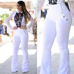 2019 Calça Jeans Estilo Pit Bull **** Branca