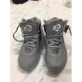 best sneakers 0997f e22c5 adidas Hombre Talla 36 Y 12 Gris Modelo D Rose 773