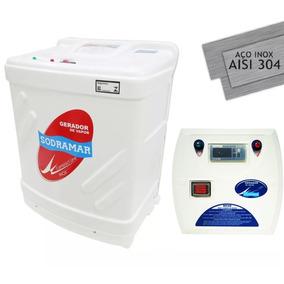 Gerador De Vapor Para Sauna Sodramar 12 Kw C/ Quadro Digital
