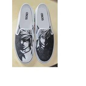 Zapatos Death Note Aa Marca Collec Diseño Hecho A Mano