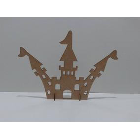 40 Castelos De 20cm Em Mdf Cru Lembrancinhas Festa 15 Anos