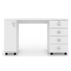 Mesa Para Computador Office C/ Gavetas Smart - Lukaliam