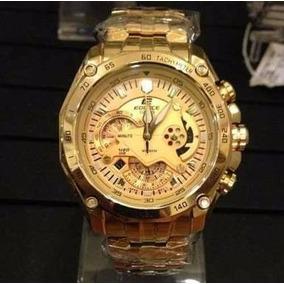 3910ba176b2 Relogio Casio Edifice Ouro - Joias e Relógios no Mercado Livre Brasil