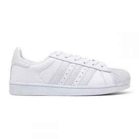 Tenis Adidas Superstar Tamanho 36 Star - Tênis Couro Branco no ... b66babab60614
