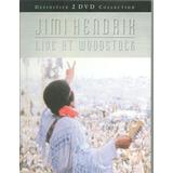 Dvd Jimi Hendrix - Live At Woodstock (2 Discos Novo)