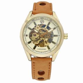 60fd5d8673b Relógio Forsining Original Cowboy Esqueleto Mec Automático
