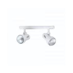 Spots Turbo E27 R63 Blanco Doble Base Rectangular