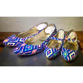 Zapatos Flats Madre E Hija Talla 24 De Mujer Y 15 De Niña