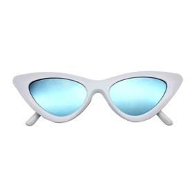 Oculos De Sol Retro Branco Estilo Delegada Helo Fendi - Óculos no ... ed4278e7d2