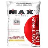 Albumina - Whey Protein - Colágeno Mass Titanium 17500 3kg