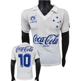 b55944756c6ea Camisa Cruzeiro Coca no Mercado Livre Brasil