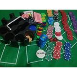 Paquete De Poker Todo Incluido Con 200 Fichas
