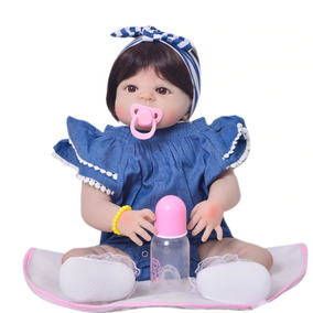 Bebê Reborn Silicone Menina Barato Laço Frete Grátis