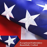 G128 - Americano Bandera Ee.uu. Bandera 3x5 Pies Doble Echó