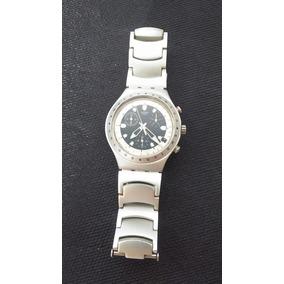 50e409422d5 Swatch - Irony Aluminium Azul - Relógios no Mercado Livre Brasil