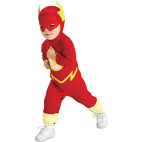 Disfraz Flash Importado Originales Dc Comics Talla 2-4
