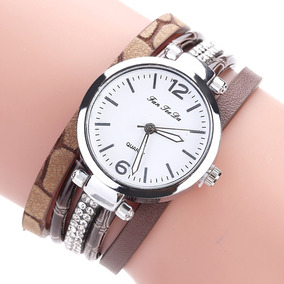 be3f80233fe Relogio Feminino Barato Marron - Relógios no Mercado Livre Brasil