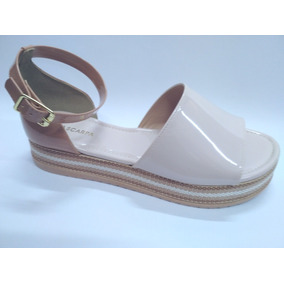 b5979b58c3 Sandalia Via Gata Saltinho - Sapatos no Mercado Livre Brasil