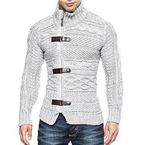 Suéter De Los Hombres De Punto Suéter De Manga Larga